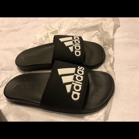"8801b6a4e Adidas ""Adilette Comfort"" sandals slides"